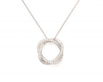 collier femme poiray or diamants avignon 351111-PM