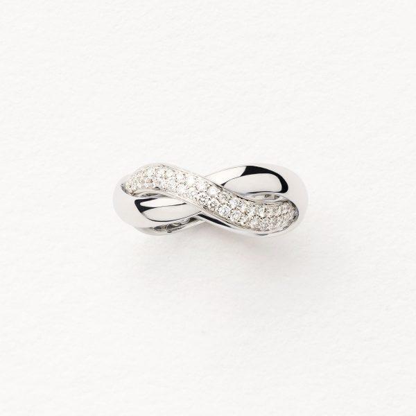 bague femme poiray or diamants avignon 451110-MM