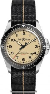 montre homme bell&ross military avignon BRV292-BEI-ST-SF