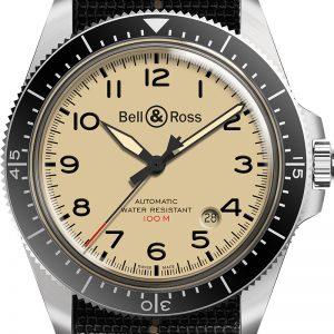 montre homme bell&ross military avignon BRV292-BEI-ST-SF