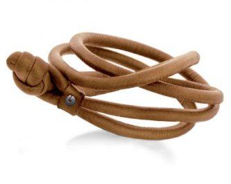 bracelet cuir femme ole lynggaard avignon A2528-010