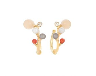 Créole boucles d'oreilles femme Ole LYNGGAARD AVIGNON A2889-402