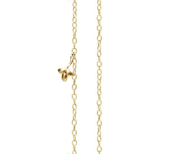 Collier Lotus OLE LYNGGAARD AVIGNON chaine d'ancre