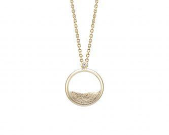 collier sautoir femme ofee or poudre diamant avignon