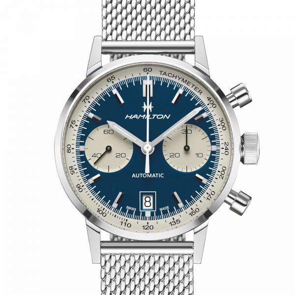 Montre chronographe hamilton automatique classique