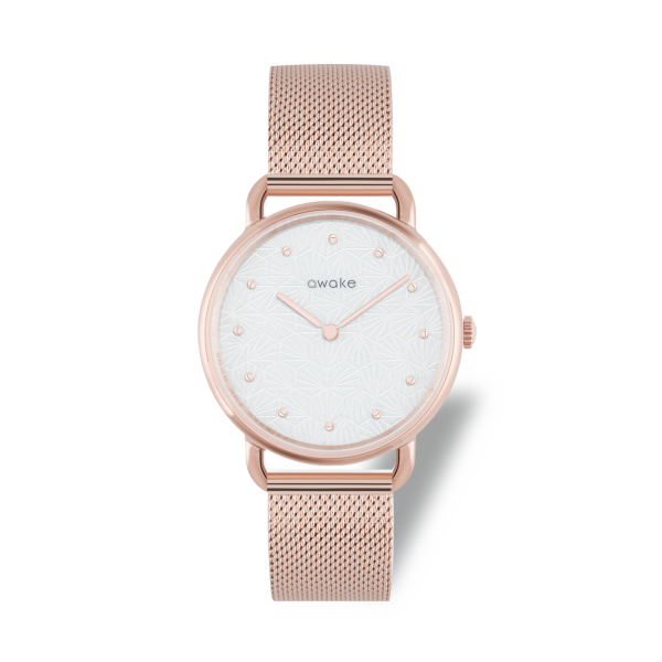 MONTRE FEMME ODYSSEE AWAKE SOLAIRE RECYCLABLE AVIGNON