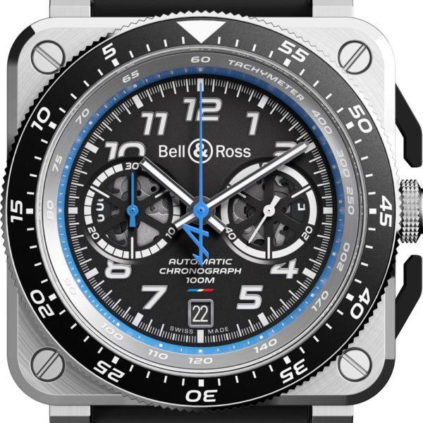 br03-94 A521 chronographe serie limitée bell&ross F1 Alpine